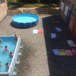 Լողում են 5-6 տարեկանները