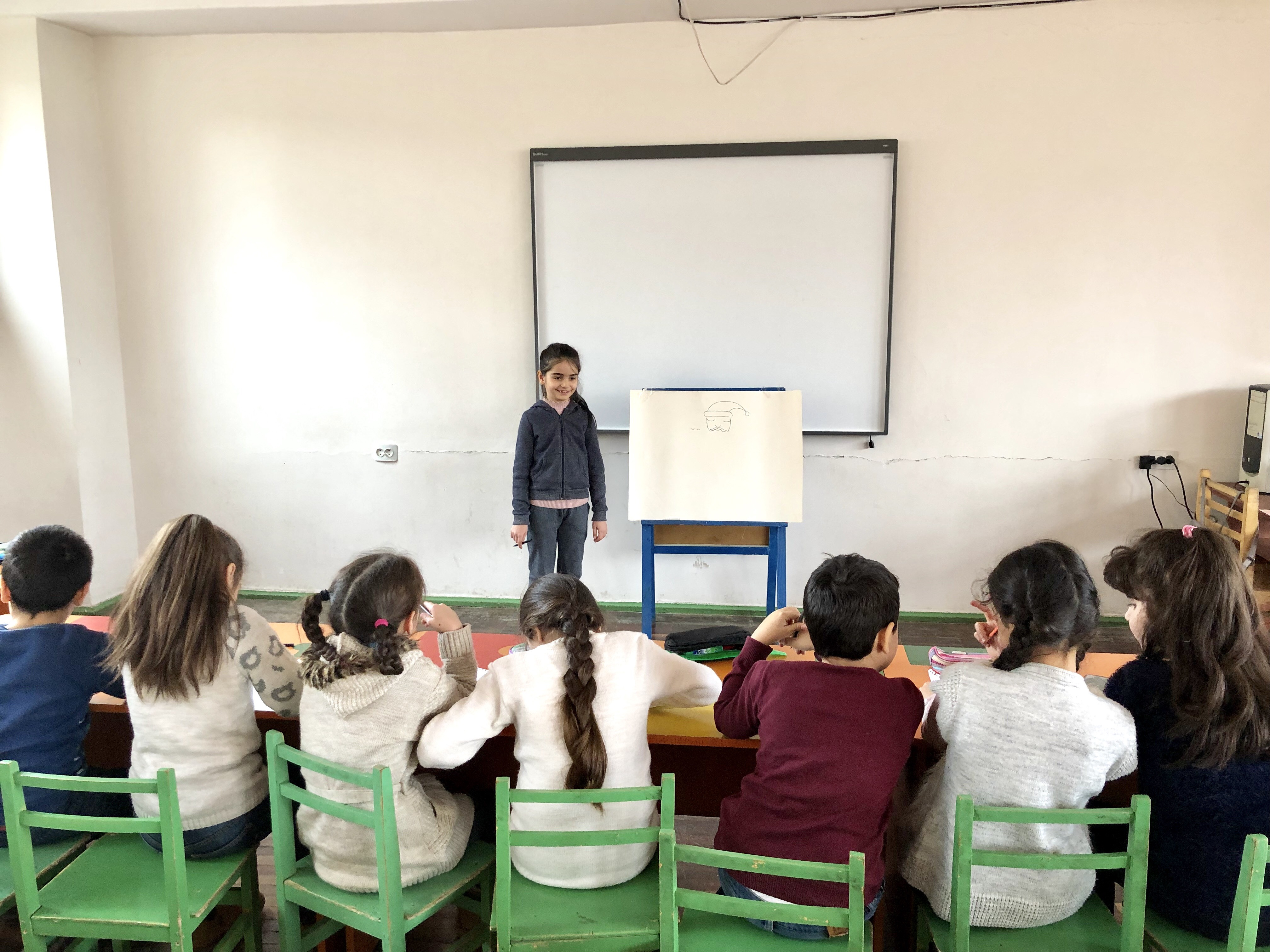 Պարապմունք Հարավային դպրոց մանկավարժական խորհուրդով