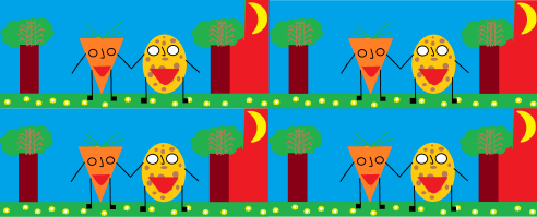 Ճագարների սիրահար Գազարի և կարտոֆիլ Բոբի ճամփորդությունը