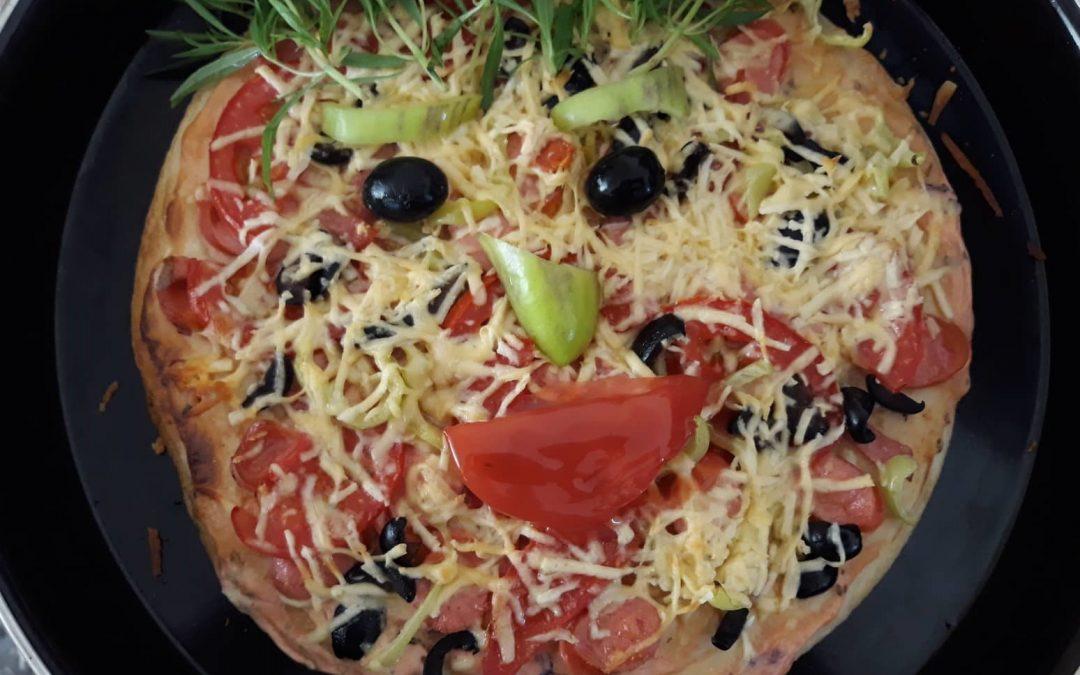 Պատրաստում ենք պիցցա