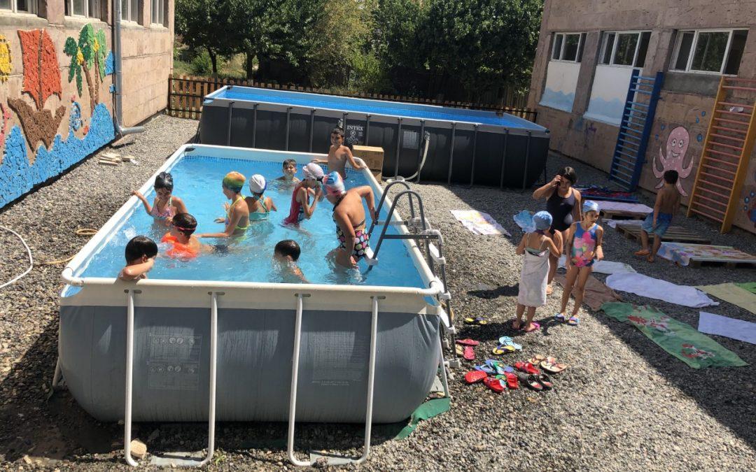 Ամառային  ճամբար օր  երկրորդ