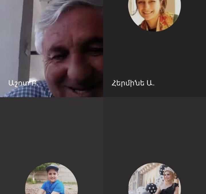Սեբաստացի կրթական համայնքի առցանց հավաք